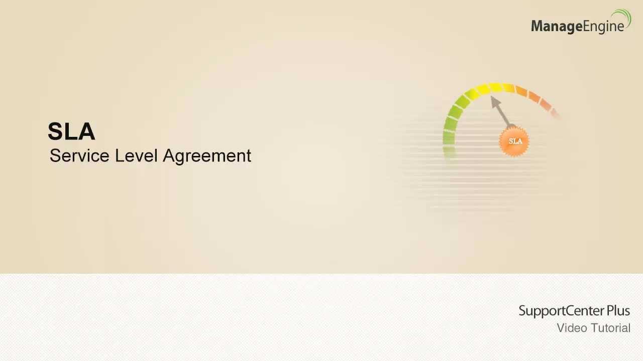 Service level agreements sla youtube platinumwayz