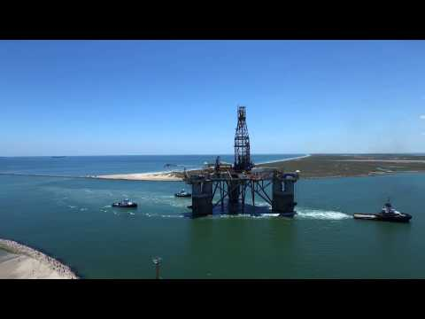 Semi submersible drillilng rig
