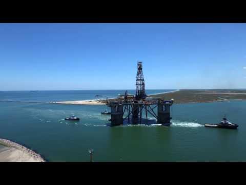 Semi submersible drillilng rig