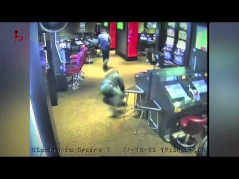 Braquage d'un casino a l'arme blanche