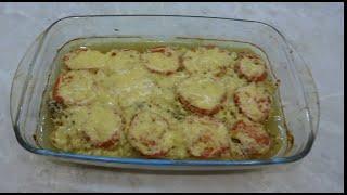 Куриная грудка с помидорами и сыром в духовке Простой и вкусный рецепт