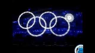видео: Почему не открылось кольцо в Сочи 2014 на открытии олиипиады