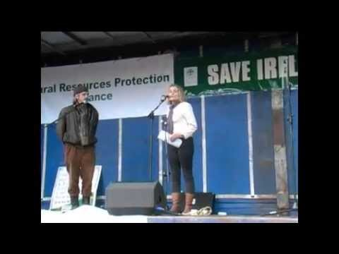 Sinead Cusack and Jeremy Irons support  'Save Ireland's Forests.'