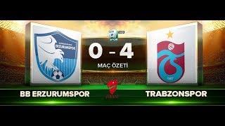 BB Erzurumspor 0-4 Trabzonspor | Maç Özeti HD | a spor | 30.11.2017