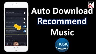 Disable Automatic Download Recommended Music Amazon Music