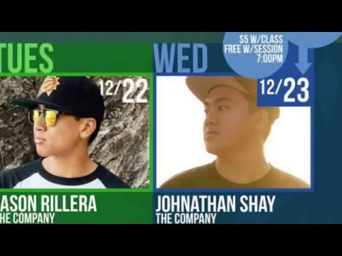 Gold Star Hip Hop Holiday Intensive 2015 with John Shay