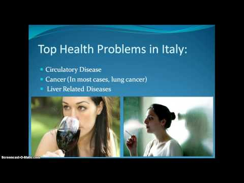 Health in Italy