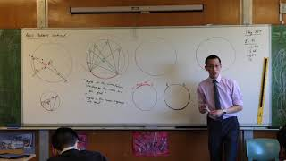 Angle Properties - Circle Geometry (Angles in the same segment)