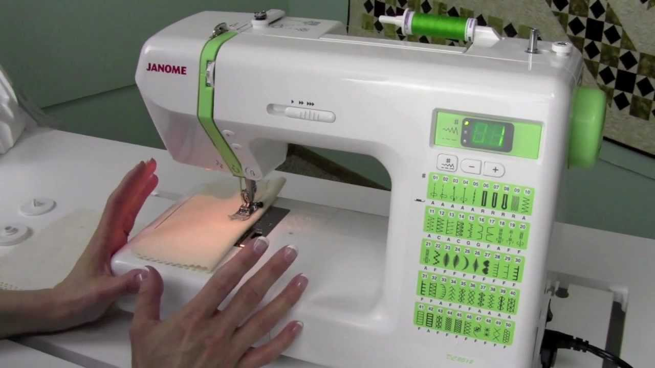 How to Use a Janome DC2012 Sewing Machine - YouTube