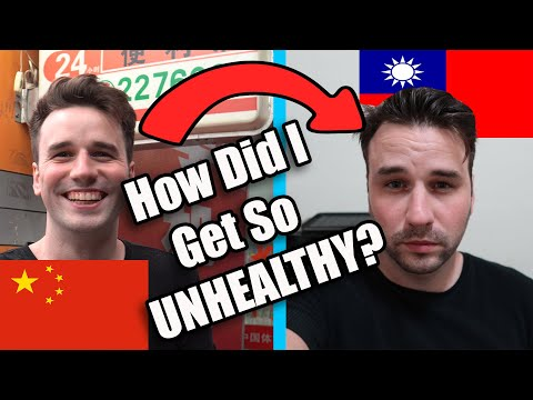 How My Health Has Deteriorated In Taiwan