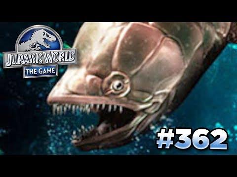NEW TOURNAMENT CREATURE GILLICUS!!! | Jurassic World - The Game - Ep362 HD