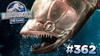 NEW TOURNAMENT CREATURE GILLICUS!!!   Jurassic World - The Game - Ep362 HD