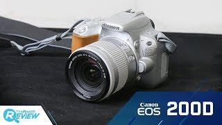 Canon EOS 200D กล้องโปรระดับเริ่มต้น ตัวเล็ก สีสวยโดดเด่น พร้อมชิป DIGIC 7