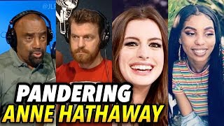 Anne Hathaway Panders to Black Lives Matter