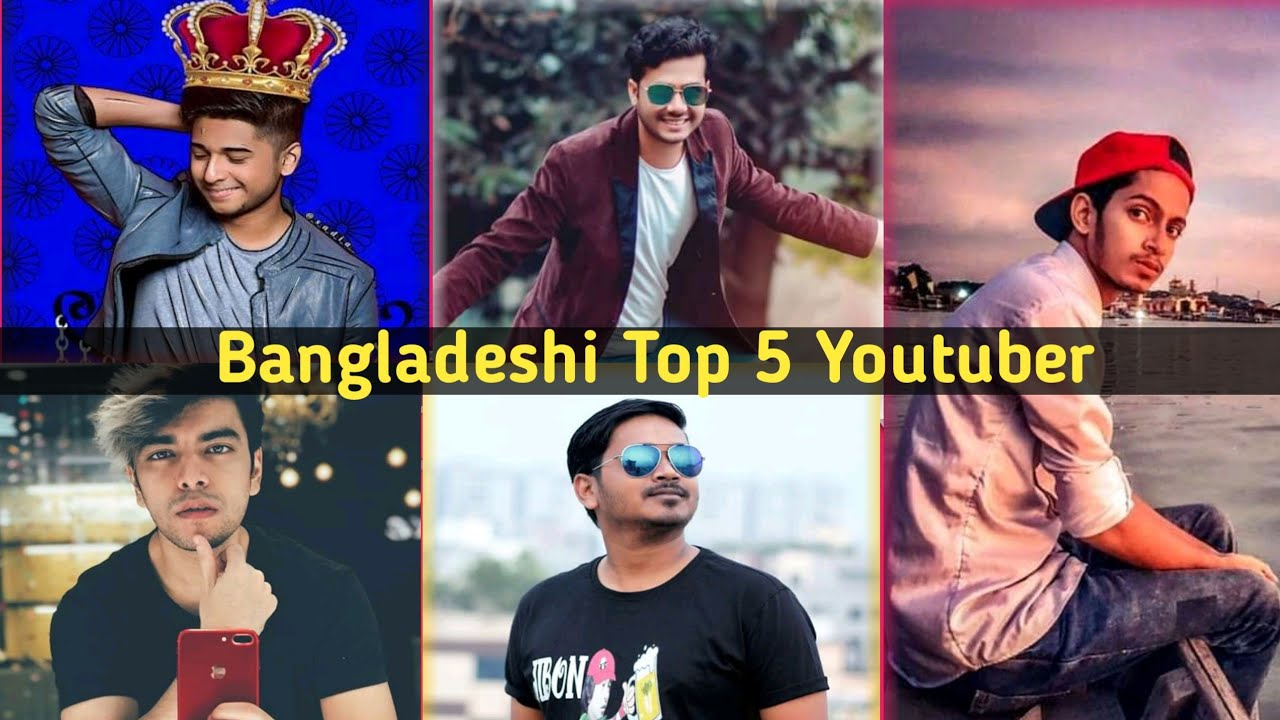 Top 5 YouTuber In Bangladesh 2019 | Bangladeshi Top 5 youtuber|#Tawhid_Afridi #Prottoy_Heron#কাইশ্যা