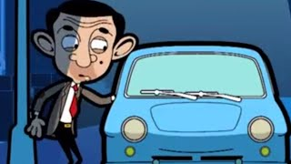 Blue Car | Funny Episodes | Mr Bean Cartoon World