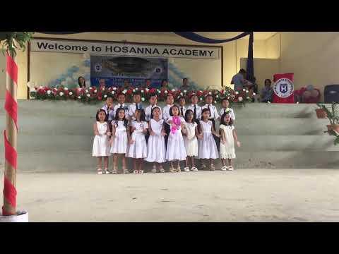 Hosanna Academy: 3rd Moving Up Ceremony 2018