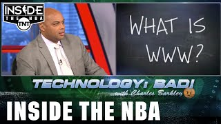 Will Chuck Be Stumped by the Technology Quiz? | NBA on TNT