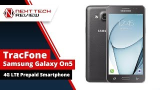 TracFone Samsung Galaxy On5 4G LTE Smartphone Review - NTR