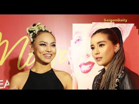 Mai Ngô 'đụng style' tóc tết với mỹ nhân Cao Thái Hà: Ai ngầu hơn ai?