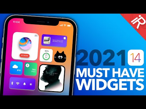 Best iOS 14 WIDGETS - You Must Have - 2021