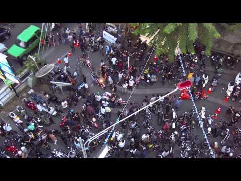 SEKEPAL ASPAL INDONESIA - MOTOART EXHIBITION 2015 | Aerial Video