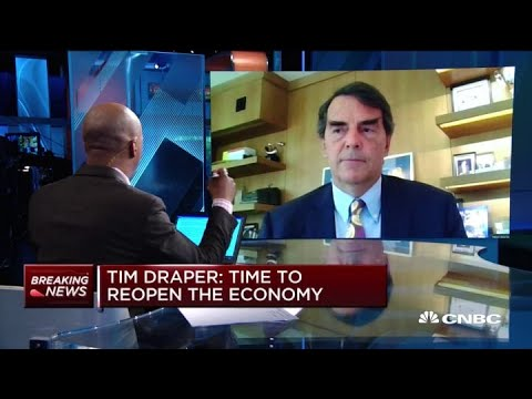 Time To Reopen The Economy: Tim Draper