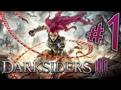 DARKSIDERS 3. Parte 1. Cólera. o Cavaleiro da Fome!!!!  PS4 Pro. Playthrough