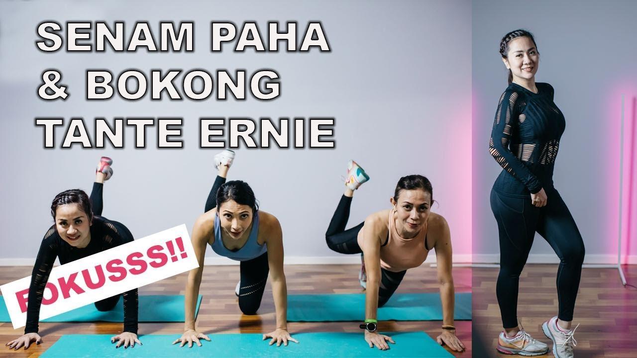 Senam Paha & Bokong Bareng, Yuk!