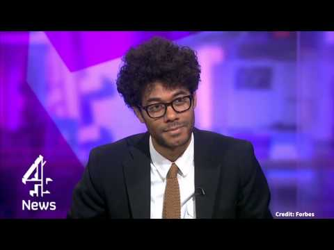 Richard Ayoade interviews himself in Channel 4 clip - DNS