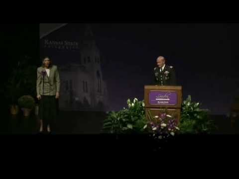 martin e dempsey gen joint chiefs of staff chairman 161 landon lecture series 2012