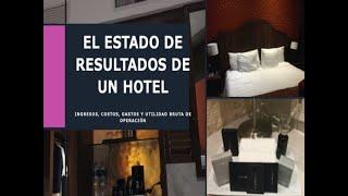 El Estado de Resultado Integral del Hotel.