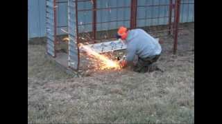 Corn Crib Removal Part 2