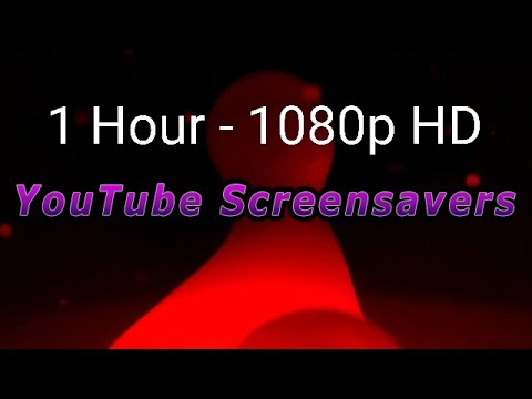 Ambient Red Lava Lamp - HD Screensaver - 1 Hour