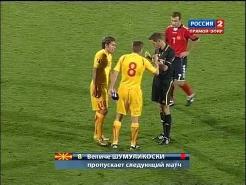 Удаление Шумуликоски в матче