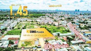 Vị trí dự án Bcons Plaza - Flycam toàn cảnh. Hotline tư vấn: 0937 161 385