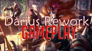 Darius Rework Full Gameplay + New Skin | PBE Client | League of Legends