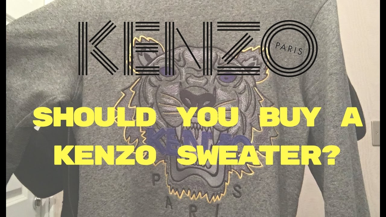 d78b7fab604 Kenzo Tiger Sweatshirt  Jumper Review - YouTube