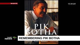 Pik Botha's biographer Theresa Papenfus tells his stance on apartheid