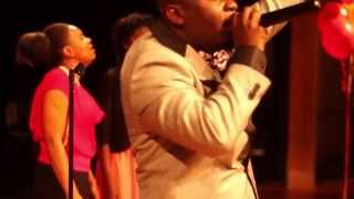 Brother Samuel ministering at Radio Haiti Tropical Concert