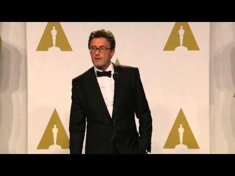 Oscars: Pawel Pawlikowski Backstage Interview 2015