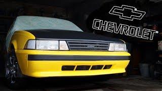 Наследник MUSCLE CAR - очень редкий Chevy Cavalier Coupe '89 - восстановление ретро авто