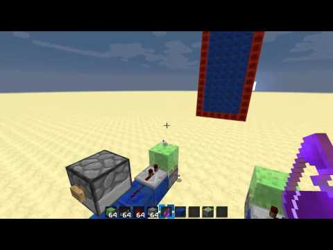 Minecraft: How to! - make an item slinger/shooter!