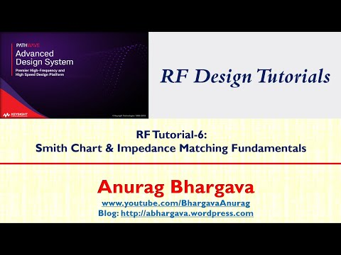 RF Design-6: Smith Chart and Impedance Matching Fundamentals