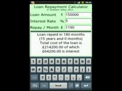 Loan Repayment Calculator - YouTube