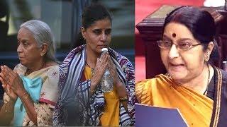 Pakistan humiliated and insulted Kulbhushan Jadhav's family, says Sushma Swaraj
