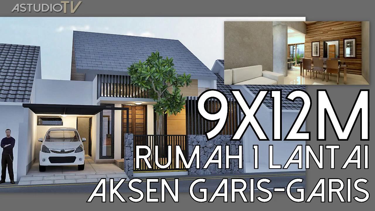 Desain Rumah Modern 9x12m Desain Rumah Modern