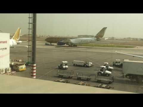 Gulf Air , Bahrain to Peshawar