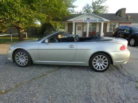 2005 Bmw 6 Series 645ci 2dr Convertible Coupe 05 Bmw 630 635 640 645