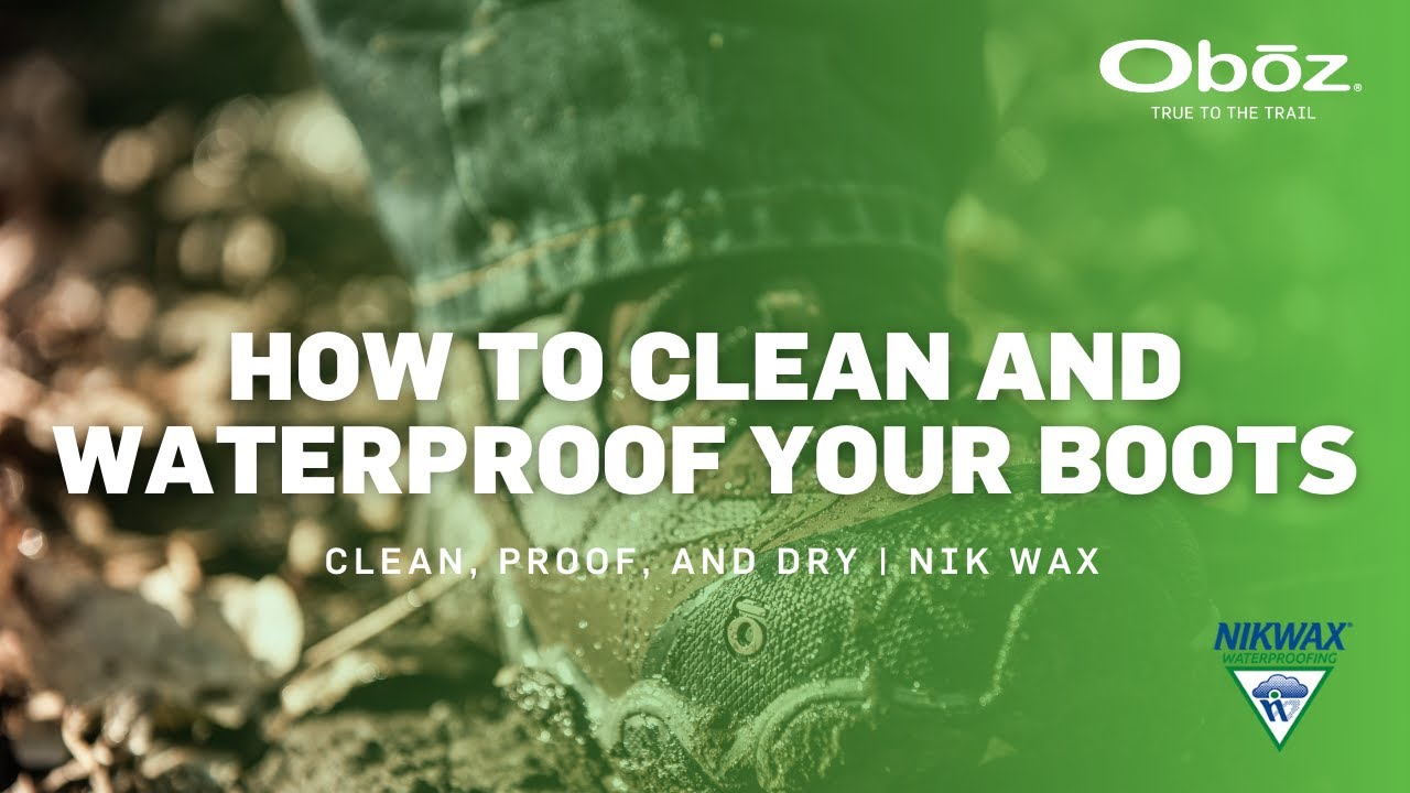 How to Clean and Waterproof Your Hiking Boots | Oboz Footwear